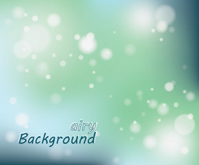 Airy circular background