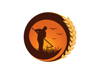 Farmer logo design