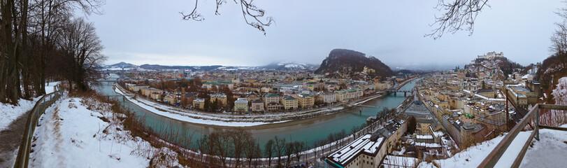 Wall Mural - Salzburg Austria at winter