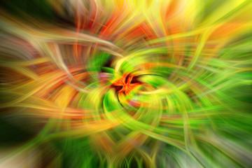 abstrakter Hintergrund in kräftigen Farben mit twirl effect