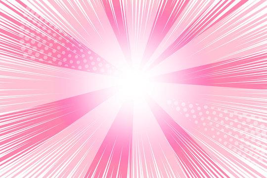 Pink cartoon background
