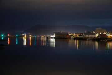 Night i harbor