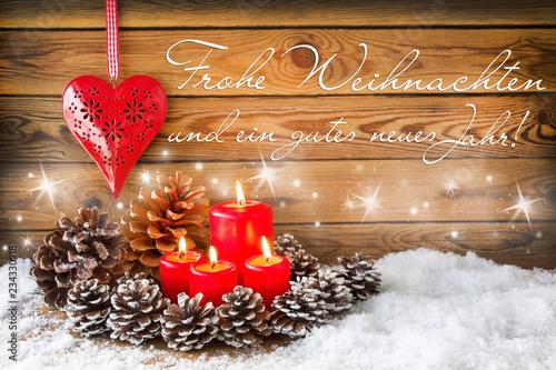 Frohe Weihnachten Herz.Frohe Weihnachten Dekoration Mit Herz Stockfotos Und Lizenzfreie