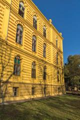 Building of Serbian Orthodox Theological Seminary in town of Srijemski Karlovci, Vojvodina, Serbia