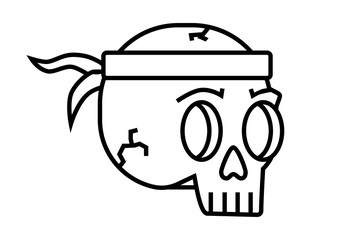 vector,skull,tattoo,retro,design,art,flowers,skeleton,dice,zombie,illustration,background,bandana,drawing,neon,bandage,red,black,symbol,graphic,vintage,human,head,gothic,sign,death,horror,danger,icon,