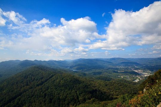 Middlesboro View from Pinnacle Overlook in Kentucky