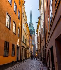 old town gamla stan in stockholm, Sweden.