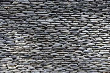 Rough stone wall texture.