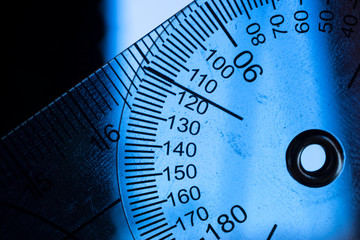 Goniometer movement medical instrument