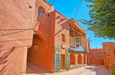 The old mosque in Abyaneh, Iran