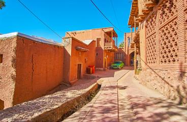 Visit Abyaneh mountain village, Iran