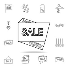 discount 3 days icon. Detailed set of clearance sale icons. Premium graphic design. One of the collection icons for websites, web design, mobile app