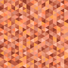 Seamless triangle pattern. Abstract geometric wallpaper of the surface. Tiled background. Light colors. Print for polygraphy, posters, t-shirts and textiles. Mosaic texture. Doodle for design