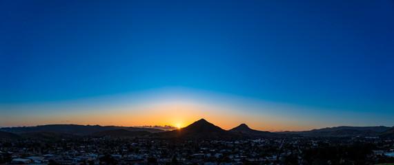 Silhouetted Mountains, San Luis Obispo, CA