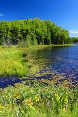 Fototapete - Mabel Lake Wisconsin