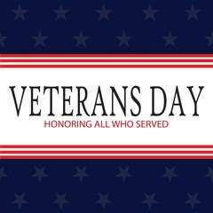Veterans day background