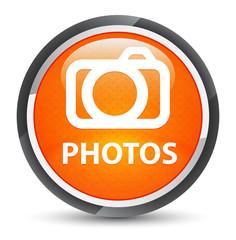 Photos (camera icon) galaxy orange round button