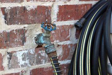 hose water faucet handle