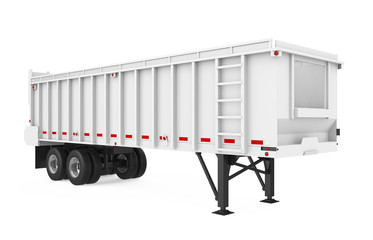 Agricultural Trailer Isolated