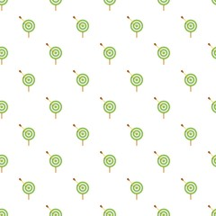 Sport target pattern seamless vector repeat for any web design