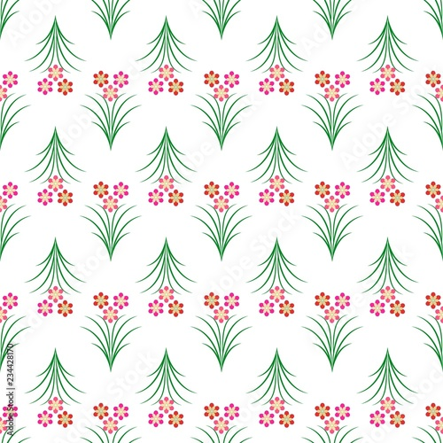 4fed5220eabc Flower abstract seamless pattern. Fashion graphic background design ...