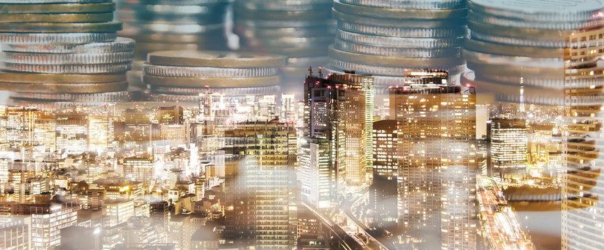 金融都市とマネー