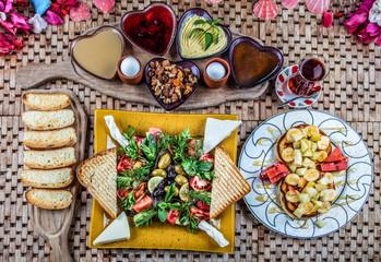 Morning Breakfast Plate