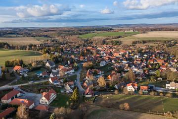 Panaroma Aufnahme Straßberg Harz