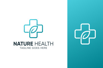Medical pharmacy logo template