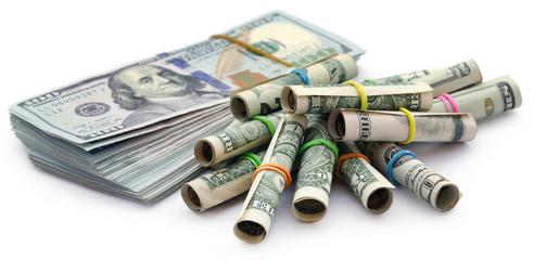 Rolled US Dollar