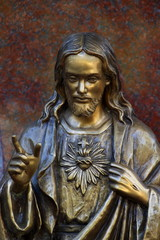 Jesus - Statue at the cemetery