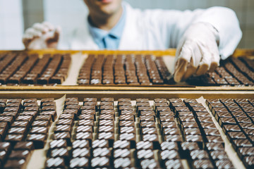 chocolate candy making