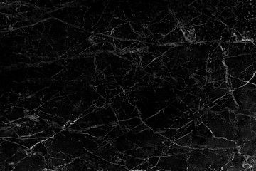 Nature black marble texture with white veins and  curly seamless patterns , interiors tile luxury for background