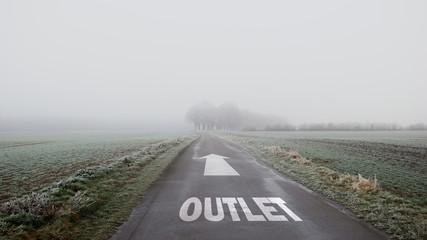 Schild 402 - Outlet