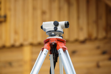 Theodolite for measuring angles and positions in building