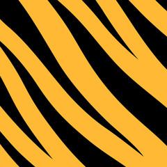 Print stripe animals jungle tiger fur texture pattern orange yellow black