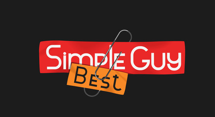 slogan simple (best) guy for t-shirts, hoodies, sweatshirts and other