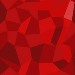 Abstract vector seamless pattern in polygonal style. Geometric background of red polygons. EPS10. Can be used as print on cover or cloth.
