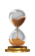 Vintage hourglass design