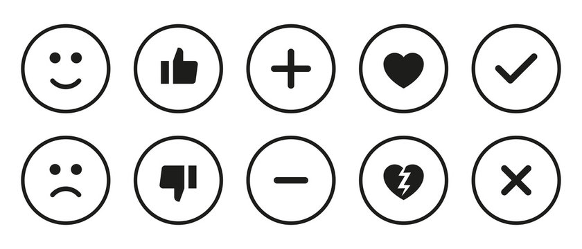 Like/Dislike Icons