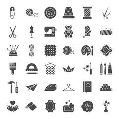Handmade Solid Web Icons