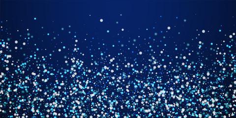 Beautiful falling snow Christmas background. Subtl