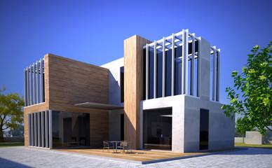 Modern original building