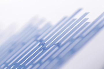 background image of business data on the Desk.