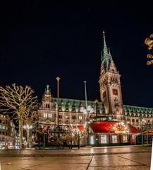 Hamburg Weihnachtsmarkt am Rathaus