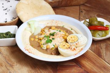 Middle East Food Hummus