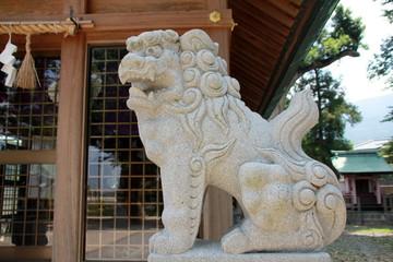 大祖宮の狛犬(篠栗町)
