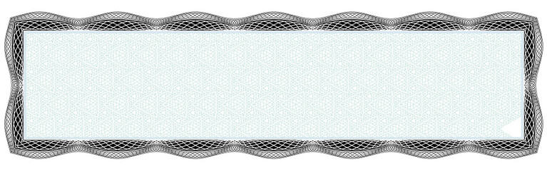 Vector frame for diploma or certificate. Template. Vector illustration.