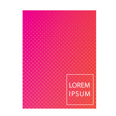 cover template design with abstract colorful background