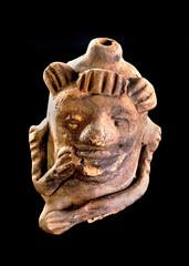 Pre Columbian Monkey Whistle.